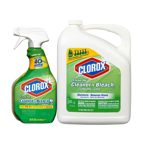 Clorox Clean-Up Cleaner with Bleach (32-oz. Spray Bottle + 180-oz. Refill)