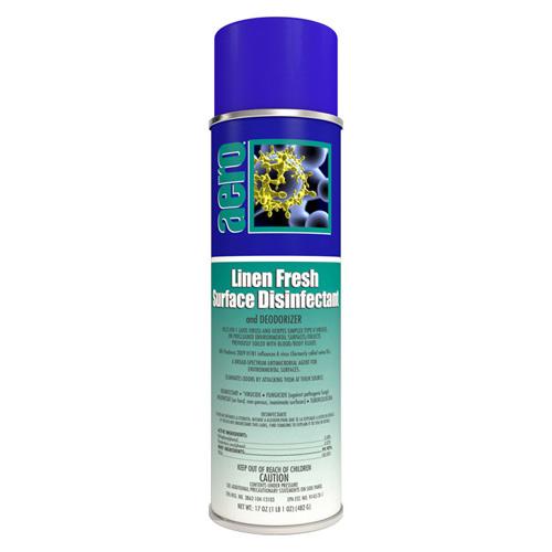 Linen Fresh Room Deodorizer,HIV-1,TB, MRSA