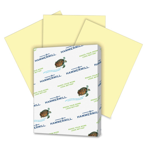 Hammermill Recycled Colored Paper Canary