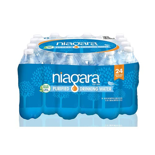 Niagra Bottled Water 24 Pack 16.9 oz