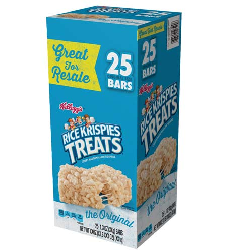 Kellogg's Rice Krispies Treat Snacks (1.3 oz. bars, 25 ct.)