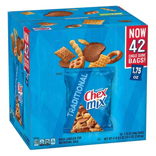 Chex Mix Traditional Savory Snack Mix (42 pk.)