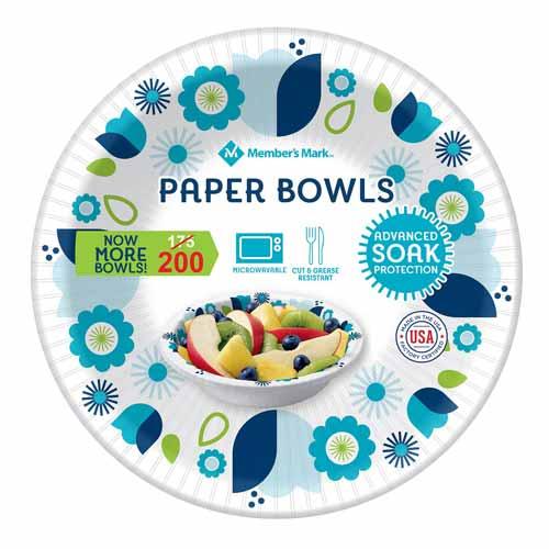 Member's Mark Ultra Paper Bowls (20 oz.,150 ct.)