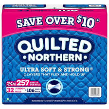 Quilted Northern Ultra Soft & Strong Toilet Paper 32 Rolls